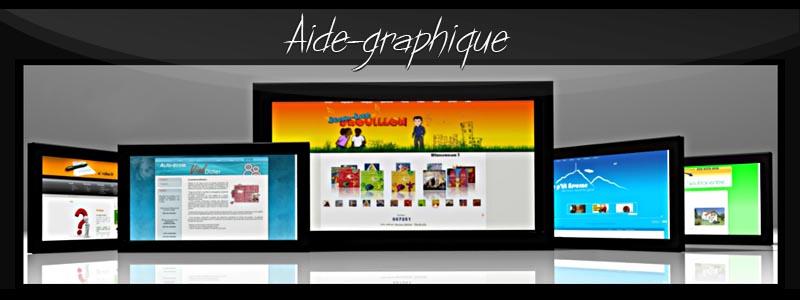 Aide-graphique, aide gratuite et appels d'offres pour le développement de vos sites internet