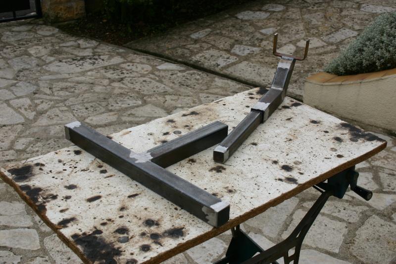 Fabrication d 39 un chevalet de tir - Fabrication glue pour chasse ...