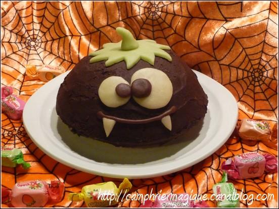 Gâteau Monstre Citrouille Le Camphrier Magique