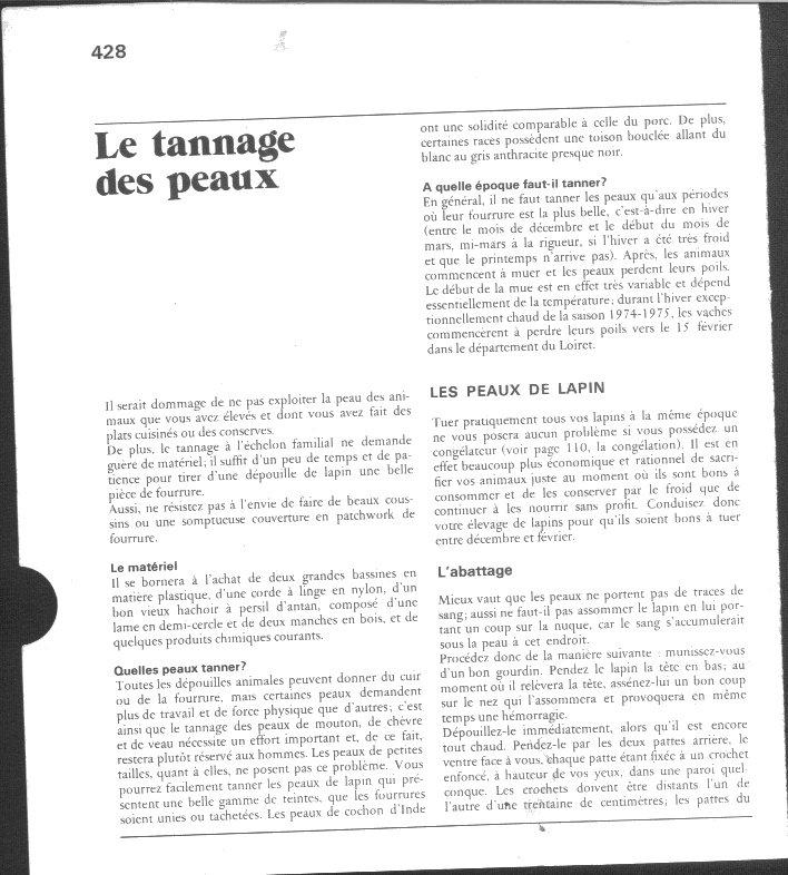 Mat riaux comment traiter le cuir page 2 - Comment traiter le bambou ...
