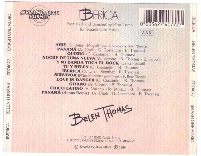 Belen Thomas - Iberica