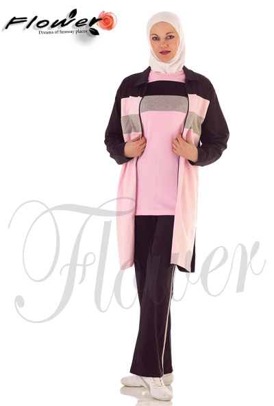 49b66cf02e218 كوليكشن ملابس رياضية للمحجبات 2014 - قمة الاناقة والشياكة