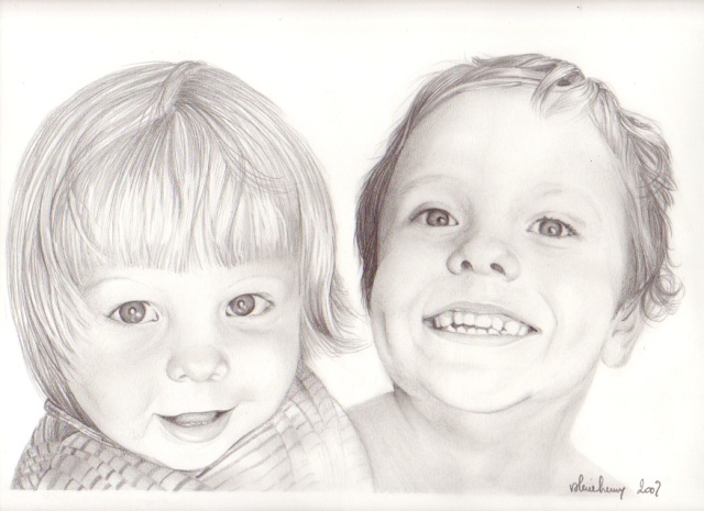 Blondinette et son frère dans graphites 23-12-18