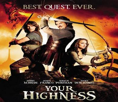 فيلم Your Highness 2011 مترجم بجودة DVD دي في دي PPVRip