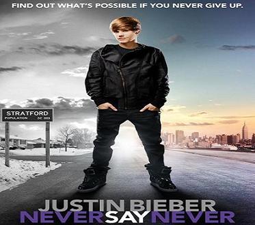 فيلم Justin Bieber Never Say Never 2011 مترجم جودة DVDrip