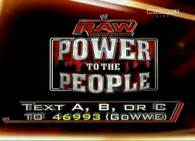عرض WWE Raw Power To The People 2011.06.20 تحميل ومشاهدة