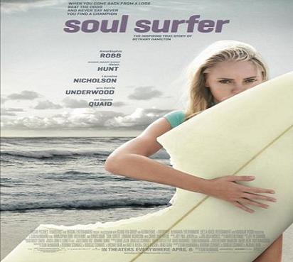 بإنفراد فيلم Soul Surfer 2011 BluRay مترجم بجودة بلوراي