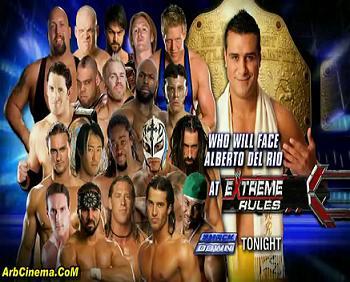 عرض WWE Friday Night Smackdown 2011.04.29 تحميل ومشاهدة