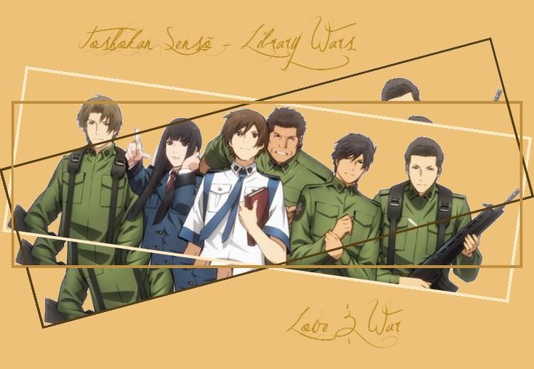 Toshokan Sensõ - Library Wars