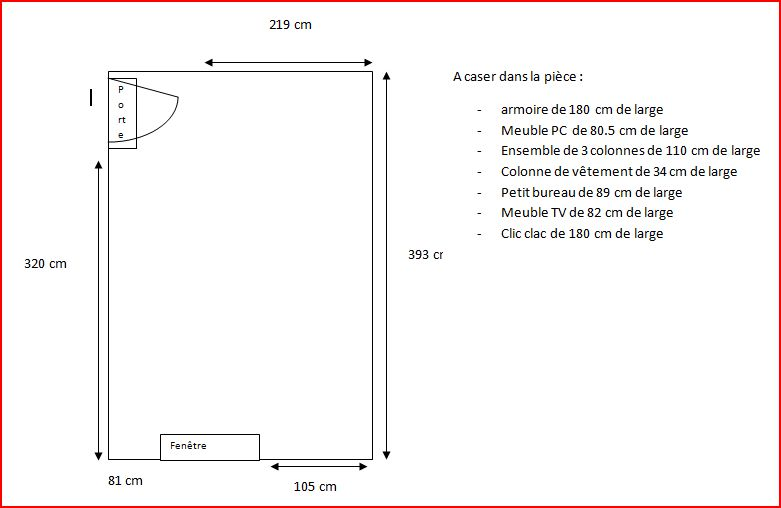Comment disposer les meubles - Comment mettre une housse de clic clac ...