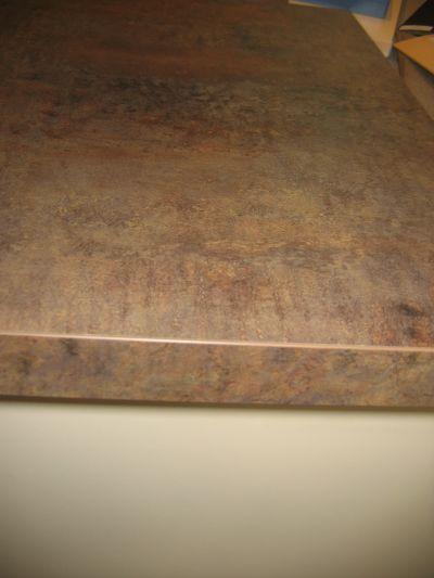 Cr dence et plan de travail bagnetine for Plan de travail beton cire