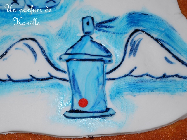 Gateau Graffiti Lionel Graffiti Cake Le Blog De