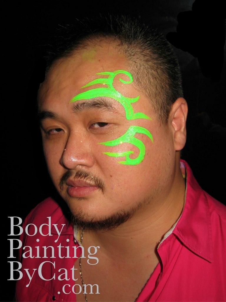 Easy Uv Face Paint Designs