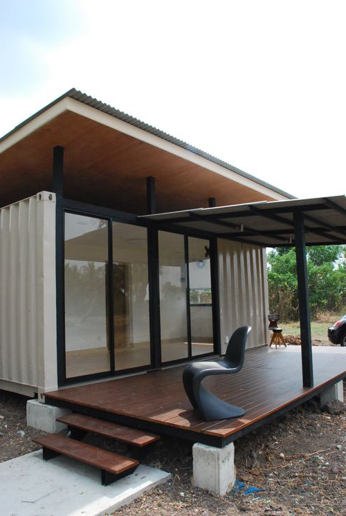 Shipping Container Modular Prefab Homes In Thailand