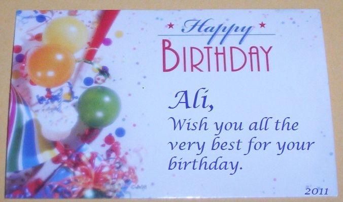 Ali, Happy birthday and Happy on Pinterest Funny Happy 21st Birthday Cards