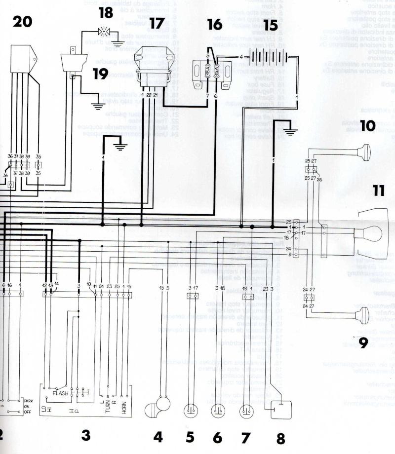 Schema Elettrico Yamaha Majesty 125 : Schema elettrico husqvarna sm ciao cross club quando