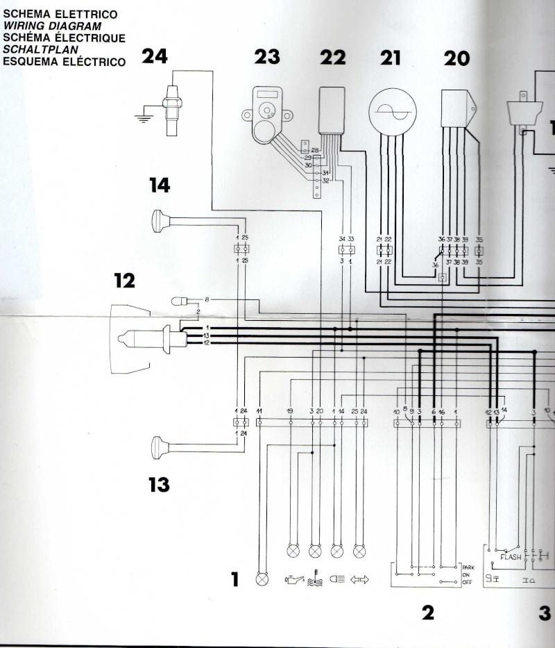 Schema Elettrico Husqvarna Sm : Cherche schéma faisceau électrique