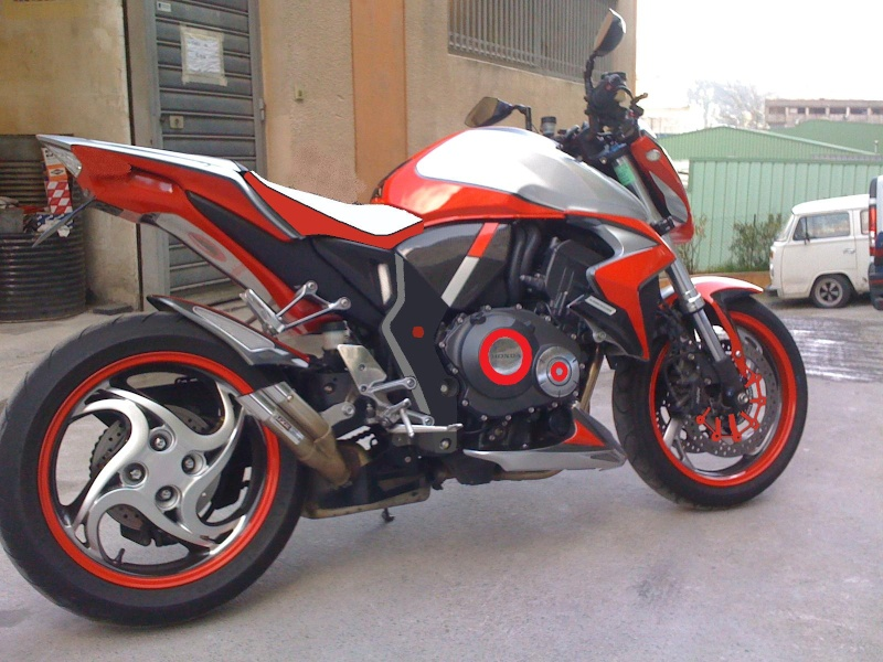 Idee peinture moto