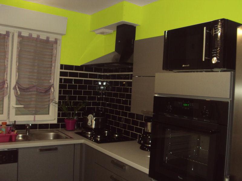 Cuisine ouverte sur salon et sejour couleur des murs - Cuisine couleur cappuccino ...