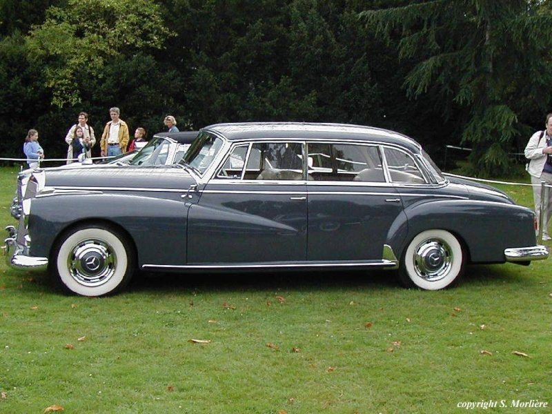 Historique les mercedes 300 300b 300c 300d w186 w189 for Mercedes benz 300c