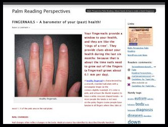 Palm Reading Perspective: the Multi-Perspective Palm Reading Blog!