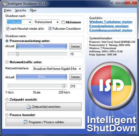 Intelligent Shutdown 2.1.5