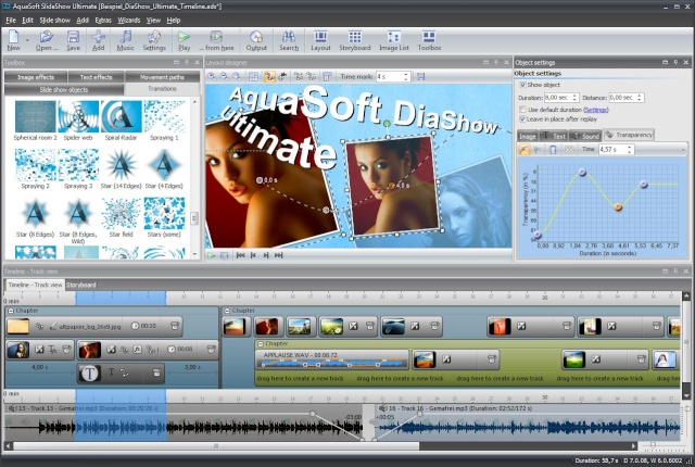 AquaSoft SlideShow Ultimate v7.5.05