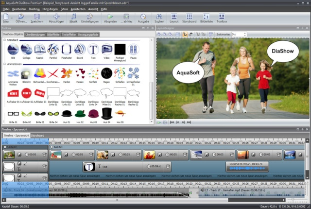AquaSoft SlideShow Premium v7.0.08 Full Dizayn Programı