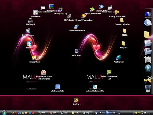 برنامج تغير شكل ايقون سطح المكتب روعة Desktop Icon Toy v4 5  حصريا