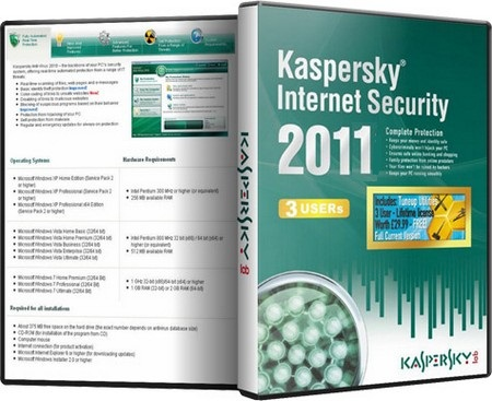 Kaspersky Internet Security 2011 v11.0.1.400 | Multi Lien