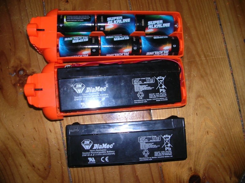 Stampede Battery Tray Mod For A 12v Battery