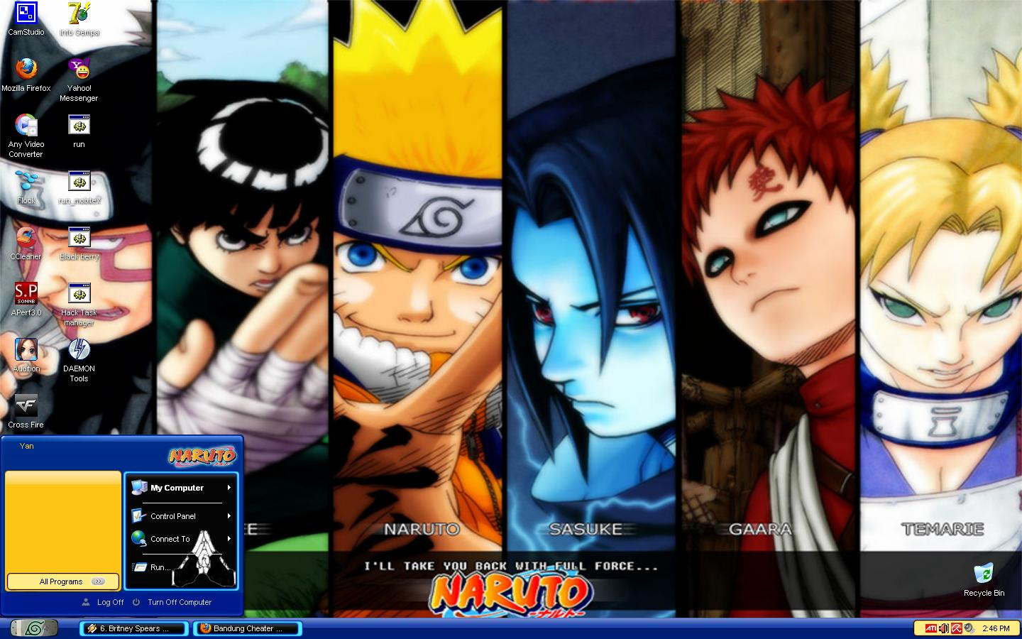 psp themes naruto - HD 1440×900