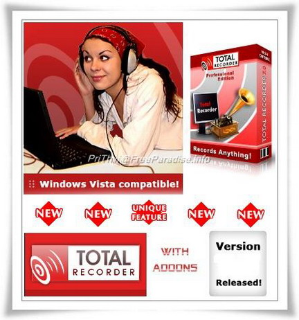 Total Recorder v8.2 Build 4100 Portable