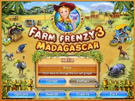 Farm Frenzy v3: Madagascar