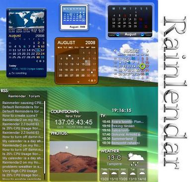rainlendar pro free download