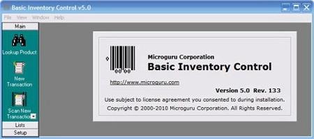 Basic Inventory Control v5.0