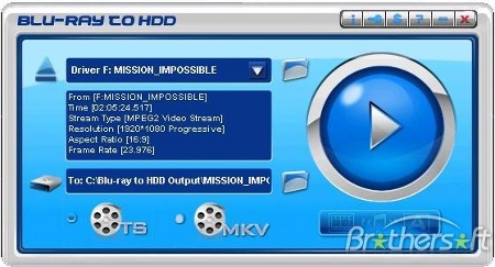 Blu-ray to HDD v1.70 Portable