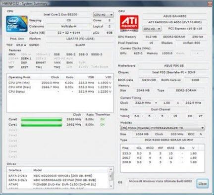 HHWiNFO32 v3.61 Build 992 Portable