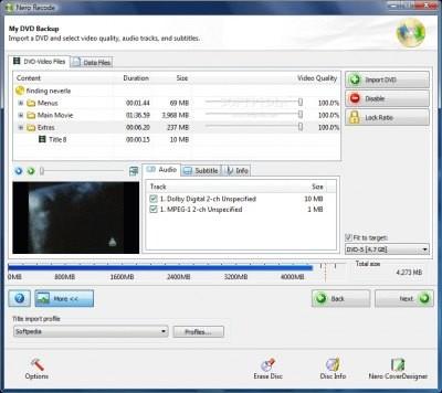 Nero Recode 4.4.40.2 (Portable)