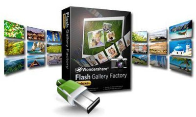 Wondershare Flash Gallery Factory Deluxe 5.1.2.5 (Portable)