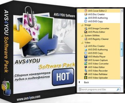 AVS All In One Install Package 1.2.1.50
