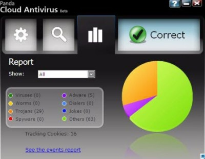 Panda Cloud Antivirus v1.1.3