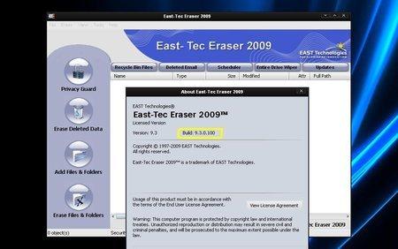 East-Tec Eraser 2010 v9.9.5.100 Portable