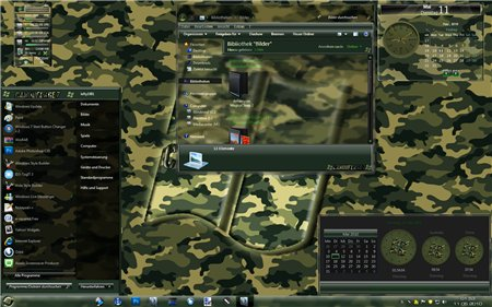Camouflage Theme For Windows 7
