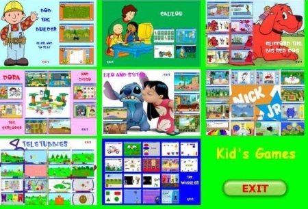 30 Flash Games for Kids