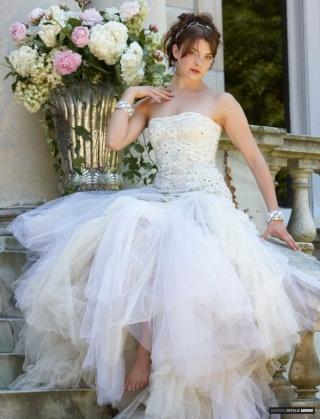 La mariée était extrêmement heureuse
