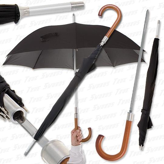 es gibt regenschirme mit versteckten klingen wof r braucht man sowas wann sollte man sich. Black Bedroom Furniture Sets. Home Design Ideas