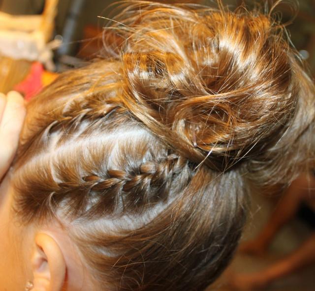 awesome coiffure facile pour un gala de danse with coiffure facile pour  enfant
