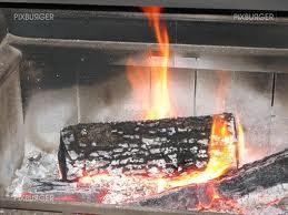 feu de cheminee