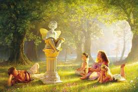 Les princesses et les fées. dans POESIES, TEXTES images29